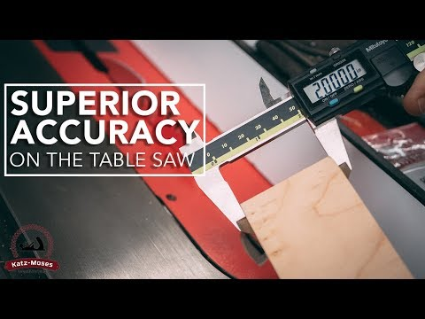 Get Perfect Cuts Every Time - My Favorite Table Saw Tip