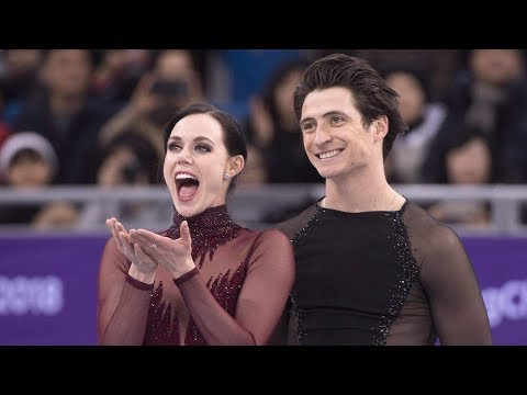 Tessa Virtue and Scott Moir touched by international fan support