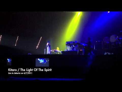 Kitaro - The Light Of The Spirit (live in Jakarta - 2011)