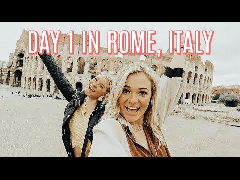 FIRST TIME IN ROME, ITALY | College Spring Break