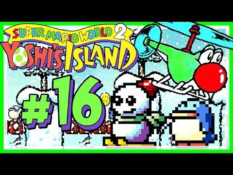 YOSHI'S ISLAND # 16 👶 Der Winter naht - Das Lied von Eis und Feuer [HD60] Let's Play Yoshi's Island
