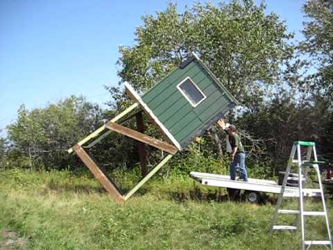Roseau Deer Stand Setup Youtube