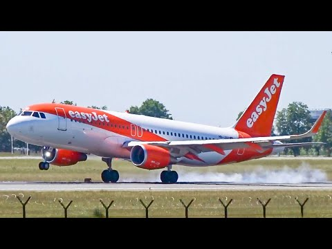 Full day of Plane Spotting at Belgrade Airport in 12 Minutes, with ATC! - A320, A330, B737, A310...