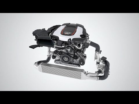 ► Audi V6 TDI Biturbo 320 HP engine