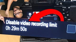 How To Record Unlimited Time on Sony Cameras - Disable 30 Minute Video Record Limit