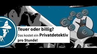 Teuer oder billig? Das kostet ein Privatdetektiv pro Stunde! | Detektei Taute®