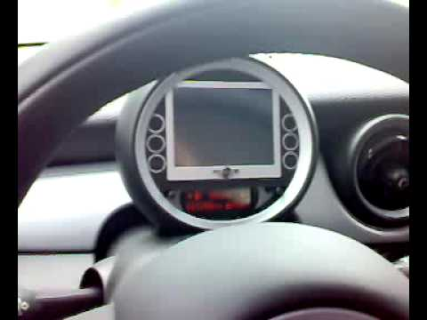 mini cooper navigation system diy youtube. Black Bedroom Furniture Sets. Home Design Ideas