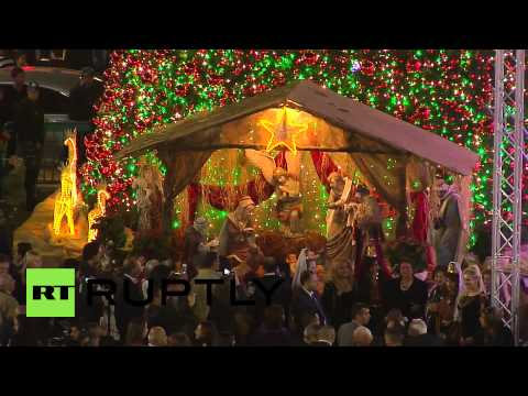 State of Palestine: Thousands celebrate Christmas Eve in Bethlehem