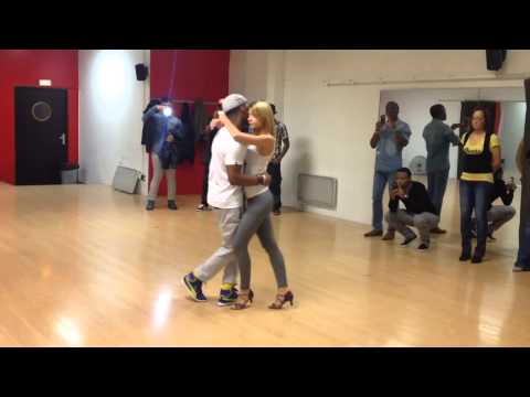 Girl dance kizomba (AFRICAN HOT DANCE)