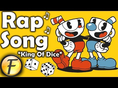 """CUPHEAD RAP SONG ► """"King Of Dice"""" by FabvL"""