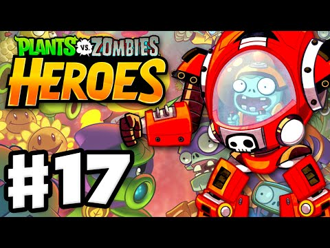 Plants Vs. Zombies: Heroes - Gameplay Walkthrough Part 17 - Z-Mech! (iOS, Android)
