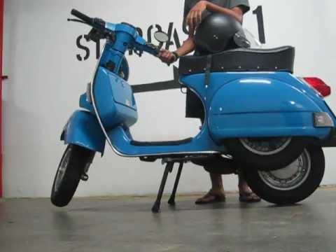 Vespa PX150 Exhaust (2)