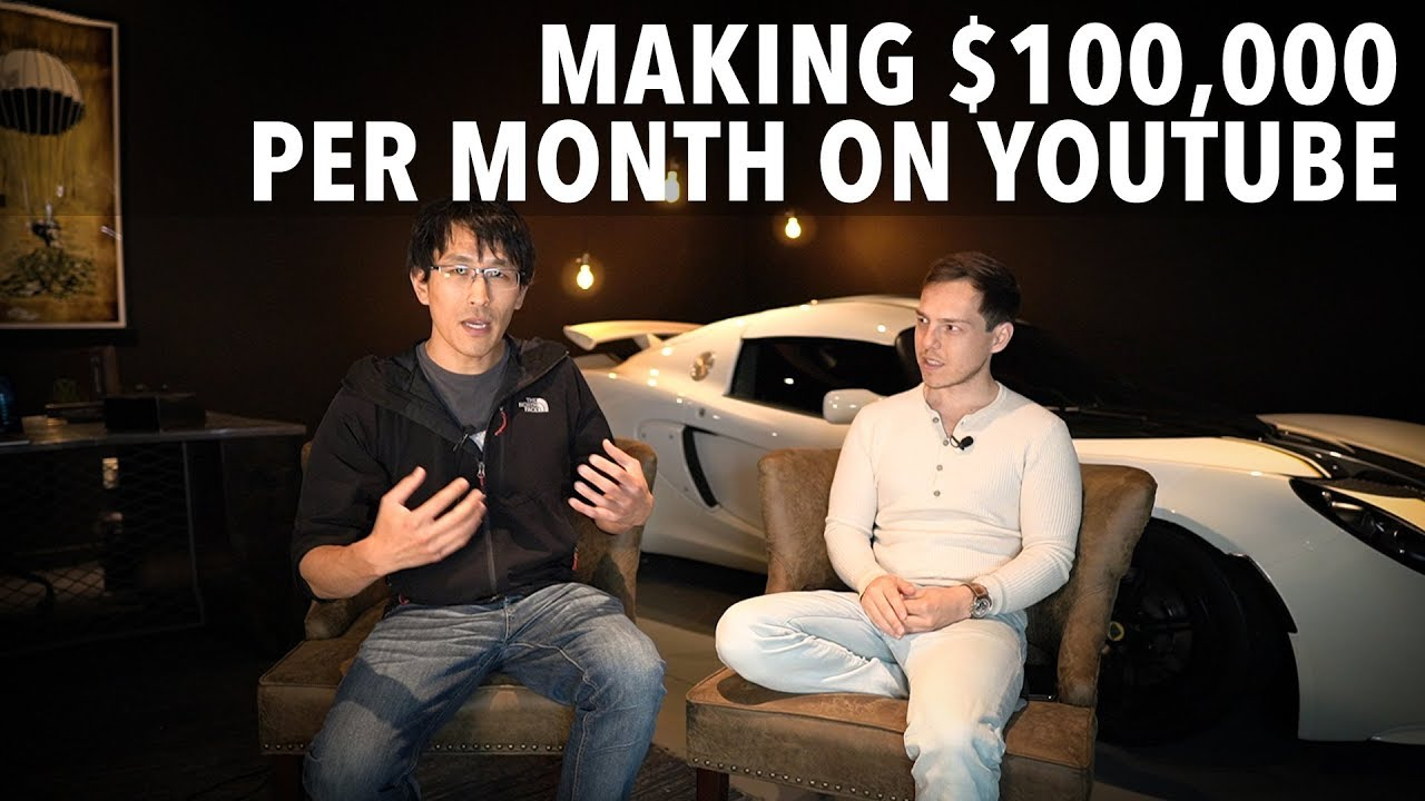 Making $100,000/month on YouTube (Graham Stephan interview)