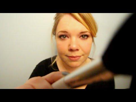 3D ASMR Brushing. Face and Hair.