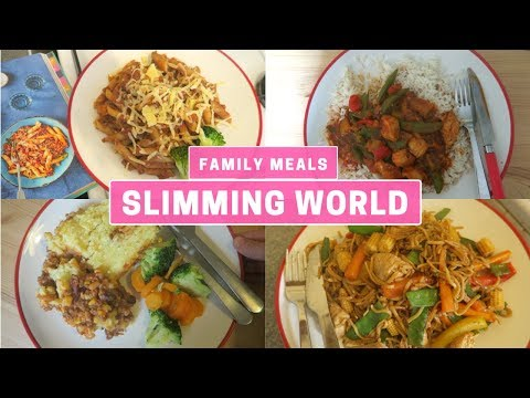 SLIMMING WORLD FAMILY MEALS OF THE WEEK   HEALTHY FAMILY DINNERS