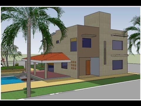 planos de casas de dos pisos en terreno de 10 x 20