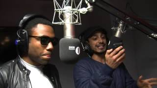 Burban in the booth - Riz MC, Childish Gambino