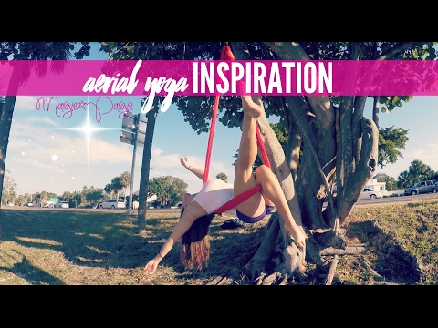 Aerial Yoga Inspiration | Adventures with Silky Lilly