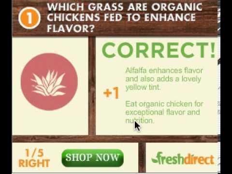 Fresh Direct - Organic