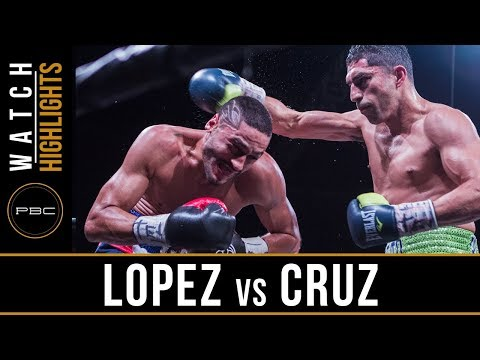 Lopez vs Cruz HIGHLIGHTS: April 28, 2018 - PBC on FOX