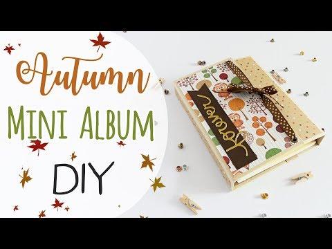 Mini Album Autunno - DIY Autumn Mini Album