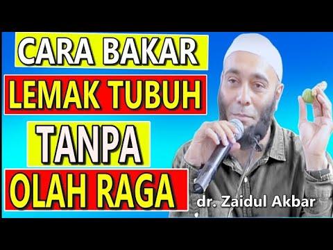 ❤️ Cara Bakar Lemak Tubuh Secara Alami, Cepat & Ampuh - Dr Zaidul Akbar