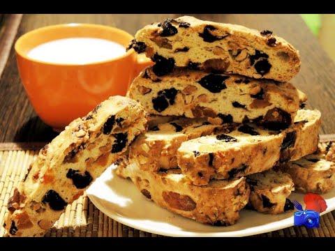 супер вкусное печенье  бискотти