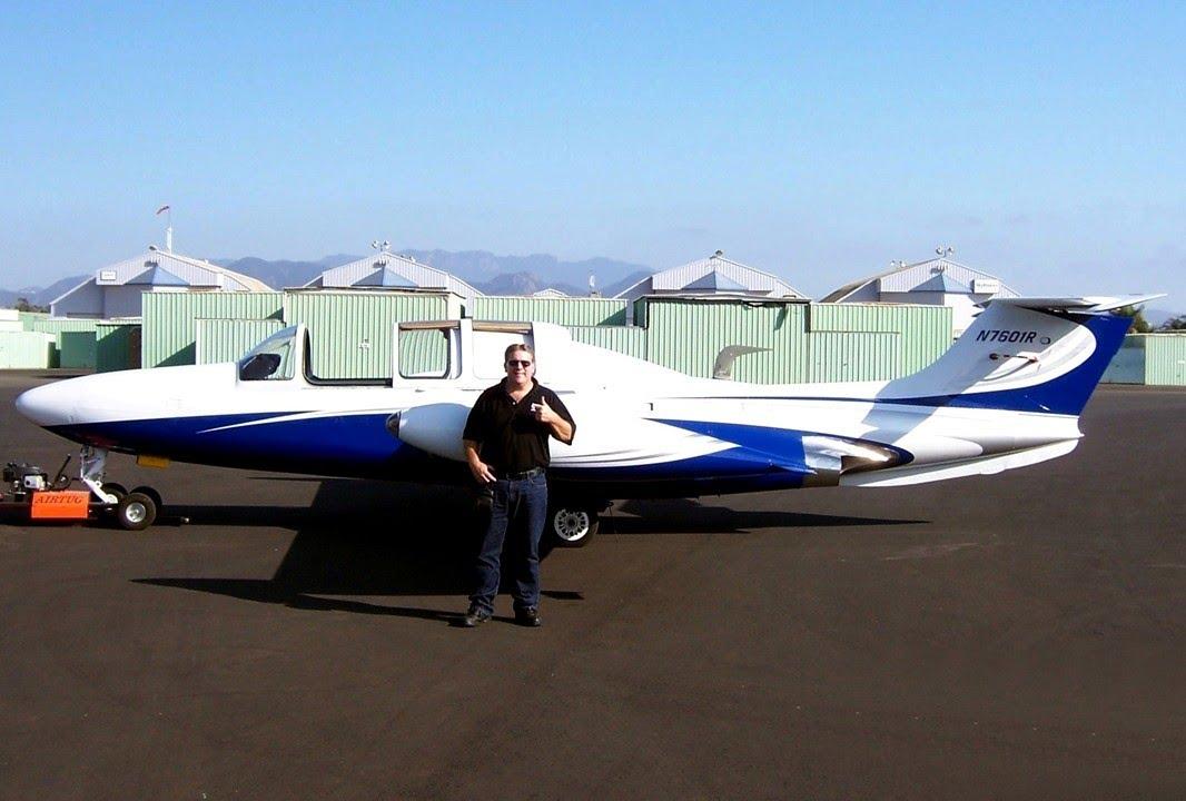 Flight In MoraneSaulnier MS760 QuotParis Jetquot At Camarillo Airport C