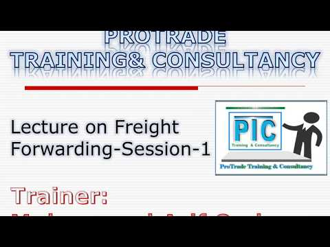Lecture on Freight Forwarding