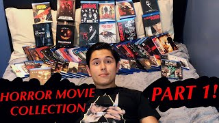 ASMR HORROR MOVIE COLLECTION! PART 1! (Collectors Items & Whispering!)