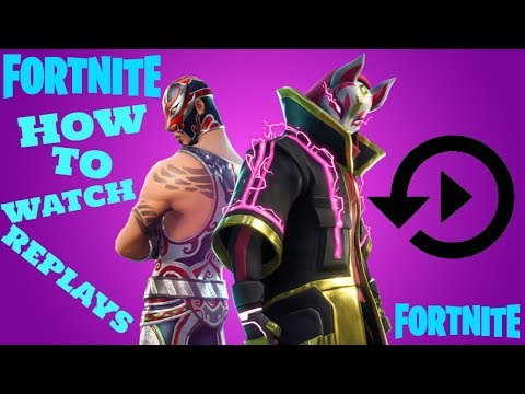 FORTNITE Replay Mode (How To Watch)