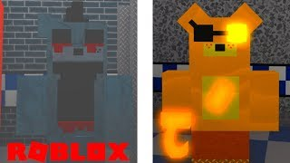 Finding The Secret Halloween and Hidden Animatronic Badges in Roblox Fredbears World Of Fantasy