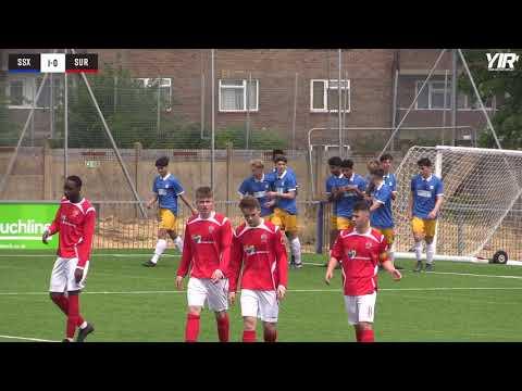 Highlights | Sussex Schools U16 v Surrey Schools U16 - 18.05.19