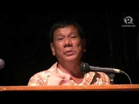 FULL SPEECH: Rodrigo Duterte at UP Los Baños, 11 March 2016