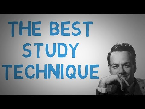 The Best Study and Learning Technique  - The Feynman Technique  (animated)