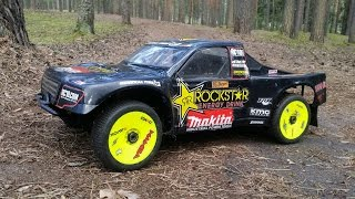 Тюнінг радіокерованої моделі Team Associated SC8.2e 4WD і завмер на треку