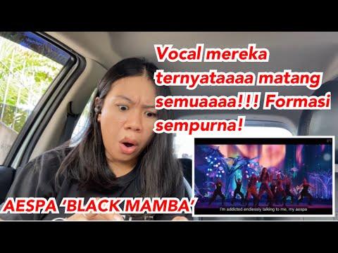 Formasi pas & perfect! AESPA 'BLACK MAMBA' MV VOCAL coach Reaction