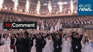 South Koreans defy virus fears at mass wedding