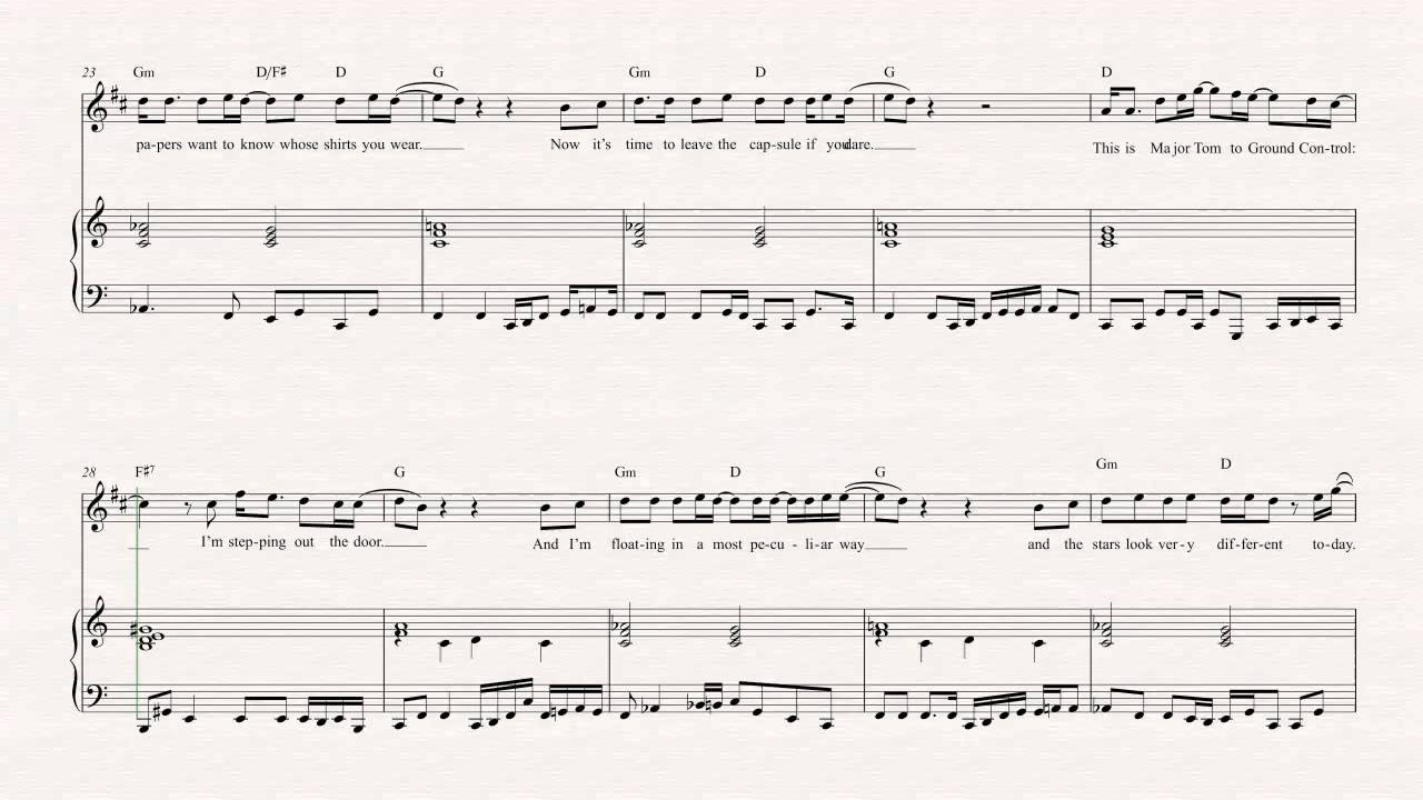 Ziggy Stardust Sheet Music Free - 1000 ideas about life on mars pinterest ashes to david bowie ...