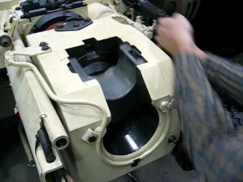 Panther Tank 75mm gun tour!