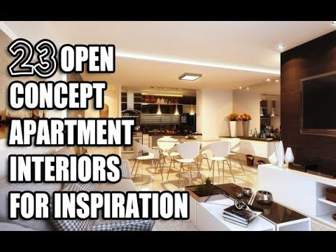 23 open concept apartment interiors for inspiration
