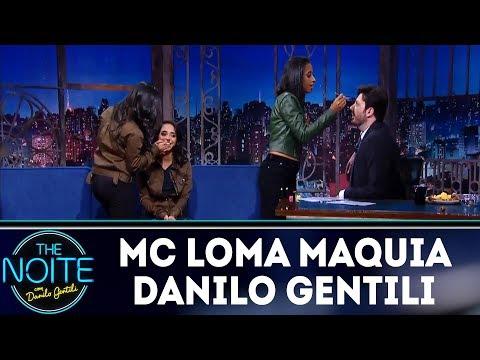 Mc Loma maquia Danilo Gentili | The Noite (14/03/18)