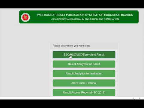 SSC Result 2019 BD Marksheet Check Online all Education Board