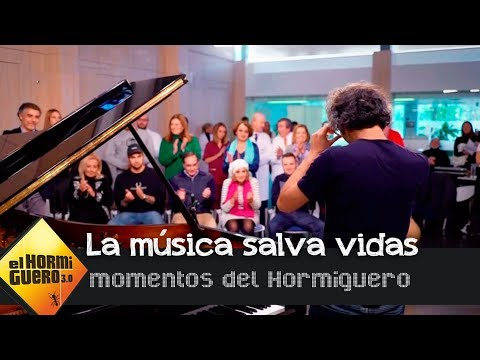 James Rhodes demuestra cómo la música te puede salvar la vida  - El Hormiguero 3.0