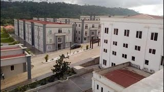 This is biggest and best Hotel for holidays in Africa locates in Ghana; Kwahu Rock City