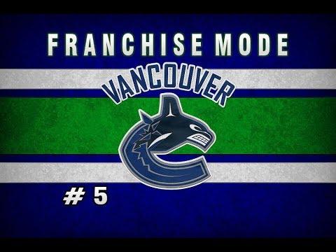 NHL 18 Vancouver Canucks Franchise Mode || Episode 5