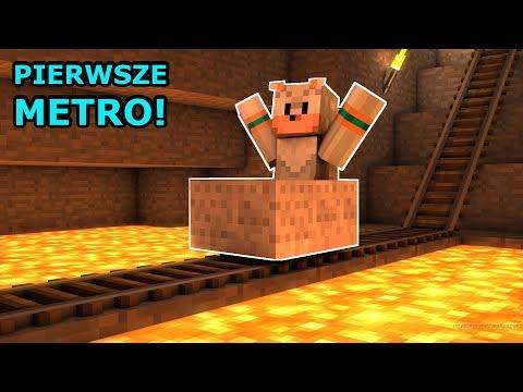 🔴 TWORZYMY PIERWSZE METRO! | Minecraft Ferajna