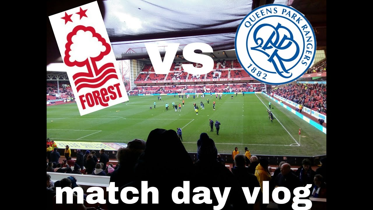 Nottingham forest vs QPR 0-1 away vlog *first ever win at ...