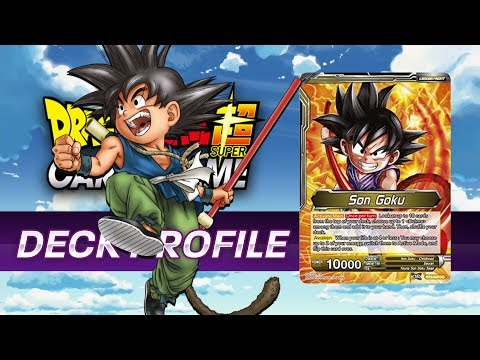 [DBS] - Son Goku Deck Profile - (Uncontrollable Great Ape) - Blue/Yellow