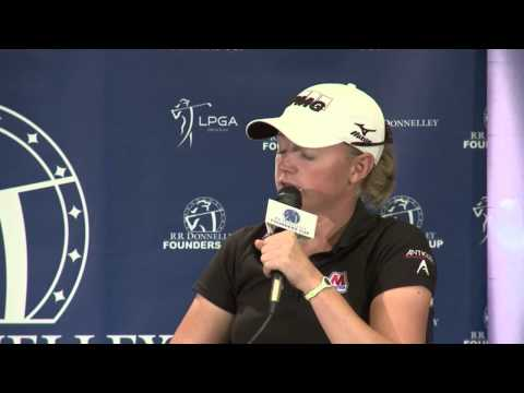 2013 RR Donnelley LPGA Founder Cup - Stacy Lewis Post 3rd Round Interview